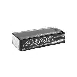 HV LCG Modified Shorty GRAPHENE-3 4500mAh Hardcase Akku - 7.6V LiPo - 120C/60C - 1