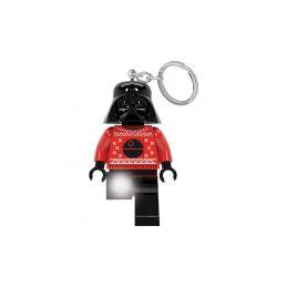 LEGO svítící klíčenka - Star Wars Darth Vader ve svetru - 1