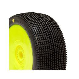 ADDICTIVE BUGGY P1 (SUPER SOFT) nalepené gumy, žluté disky (2 ks.) - 1