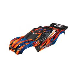 Traxxas karosérie oranžová: Rustler 4x4 VXL - 1