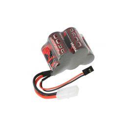 Robitronic NiMH baterie 6.0V 3600mAh kostka RX - 1