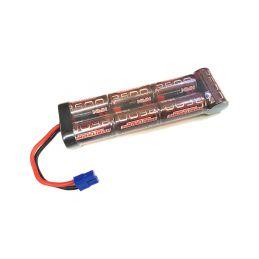 Robitronic NiMH baterie 8.4V 3600mAh plochá EC3 - 1