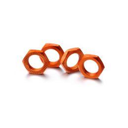 Matice kol 17mm 1:8 oranžové, stoupání 1, 4ks - 1
