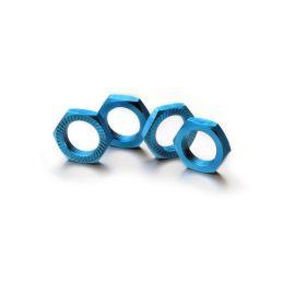 Matice kol 17mm 1:8 modré, stoupání 1, 4ks - 1