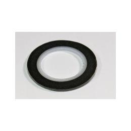 Dekorační samolepící páska 2mm, černá - 1