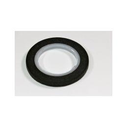 Dekorační samolepící páska 4mm, černá - 1