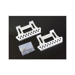 Kovové nášlapy pro Axial SCX10 / TLF stříbrné - 1