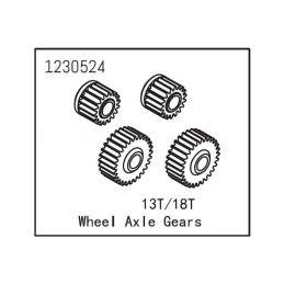 Wheel Axle Gears - 1