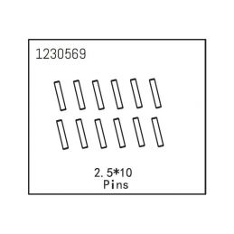 Pins 2.5*12 (12) - 1