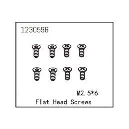 Flat Head Screw M2.5*6 (8) - 1