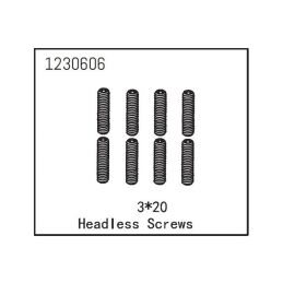 Headless Screw M3*20 (8) - 1