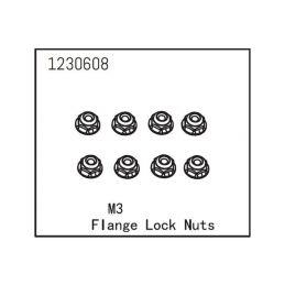 Flange Lock Nut M3 (8) - 1