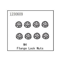 Flange Lock Nut M4 (8) - 1