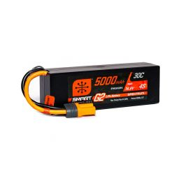 Spektrum Smart G2 LiPo 14.8V 5000mAh 30C HC IC5 - 1
