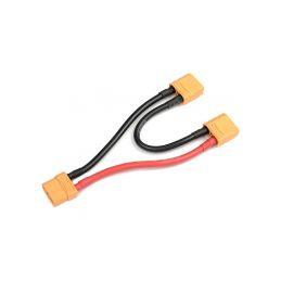 Sériový Y-kabel XT-90 Anti-Spark 10AWG 12cm - 1