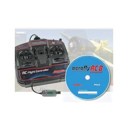 Aerofly RC8 STANDARD (Windows) s USB ovladačem - 1