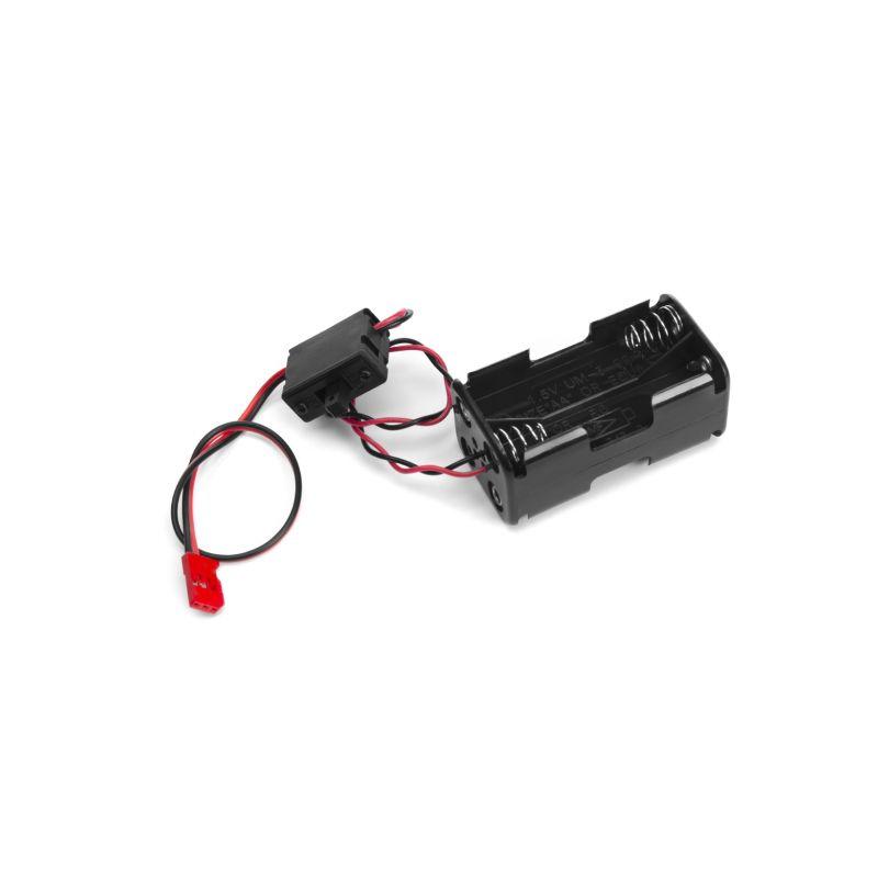 Futaba pouzdro baterií SSW-BSSA (s vypínačem) - 1