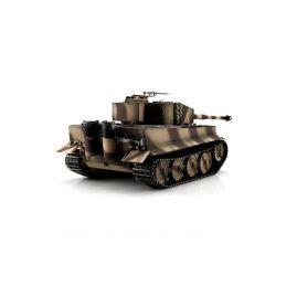 TORRO tank PRO 1/16 RC Tiger I pozdní verze pouštní kamufláž - infra IR - Servo - 2