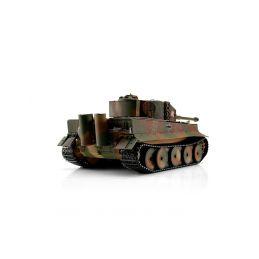 TORRO tank PRO 1/16 RC Tiger I střední verze vícebarevná kamufláž - infra IR - Servo - 2