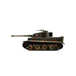 TORRO tank PRO 1/16 RC Tiger I střední verze vícebarevná kamufláž - infra IR - Servo - 3