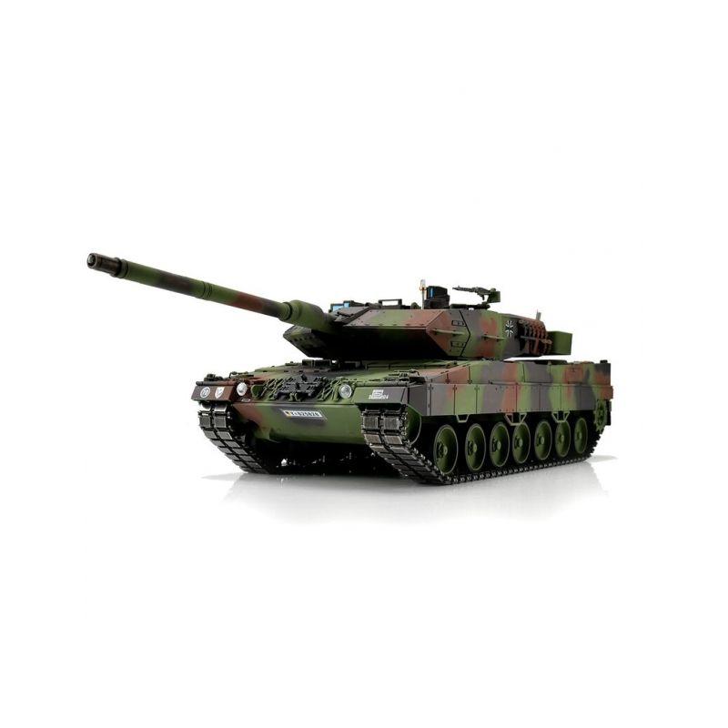 TORRO tank PRO 1/16 RC Leopard 2A6 NATO kamufláž - infra IR - Servo - 1
