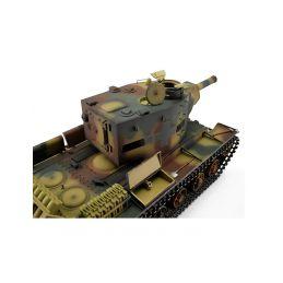 TORRO tank PRO 1/16 RC KV-2 754 (r) vícebarevná kamufláž - Infra IR - Servo - 4
