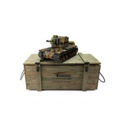 TORRO tank PRO 1/16 RC KV-2 754 (r) vícebarevná kamufláž - Infra IR - Servo - 5