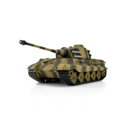 TORRO tank PRO 1/16 RC Königstiger vícebarevná kamufláž - infra IR - Servo - 1