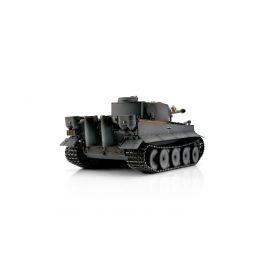 TORRO tank PRO 1/16 RC Tiger I dřívější verze šedá kamufláž - infra IR - kouř z hlavně - 2