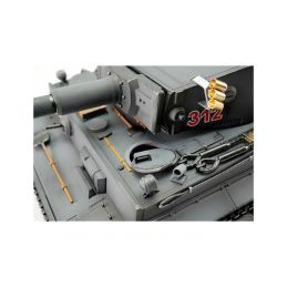TORRO tank PRO 1/16 RC Tiger I dřívější verze šedá kamufláž - infra IR - kouř z hlavně - 4