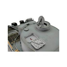 TORRO tank PRO 1/16 RC Tiger I dřívější verze šedá kamufláž - infra IR - kouř z hlavně - 5