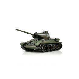 TORRO tank PRO 1/16 RC T-34/85 zelená kamufláž - infra IR - kouř z hlavně - 1