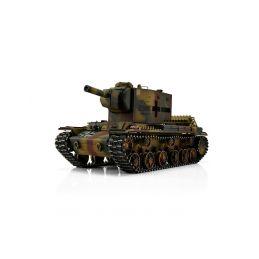 TORRO tank PRO 1/16 RC KV-2 754 (r) vícebarevná kamufláž - Infra IR - kouř z hlavně - 1