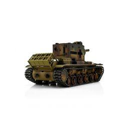 TORRO tank PRO 1/16 RC KV-2 754 (r) vícebarevná kamufláž - Infra IR - kouř z hlavně - 2