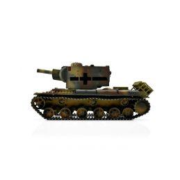 TORRO tank PRO 1/16 RC KV-2 754 (r) vícebarevná kamufláž - Infra IR - kouř z hlavně - 3