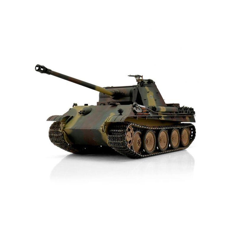 TORRO tank PRO 1/16 RC Panther G vícebarevná kamufláž - infra IR - Servo - 1