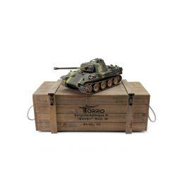 TORRO tank PRO 1/16 RC Panther G vícebarevná kamufláž - infra IR - Servo - 5