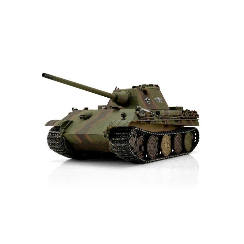 TORRO tank PRO 1/16 RC Panther F vícebarevná kamufláž - infra IR - Servo - 1