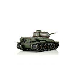 TORRO tank PRO 1/16 RC T-34/85 zelená kamufláž - infra IR - Servo - 2