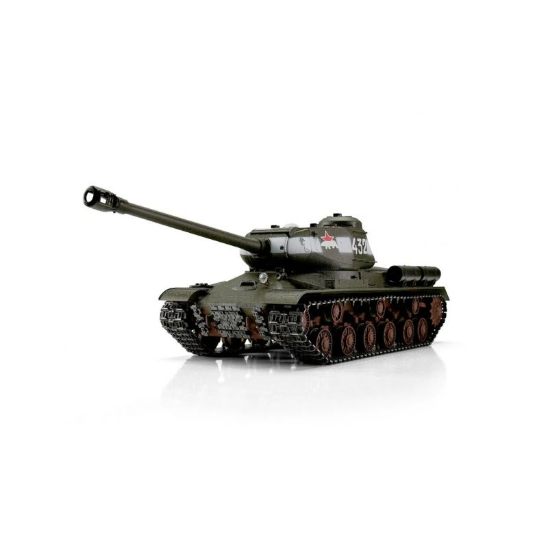 TORRO tank PRO 1/16 RC IS-2 1944 zelená kamufláž - infra IR - Servo - 1