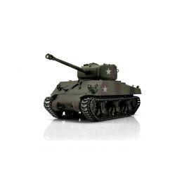 TORRO tank PRO 1/16 RC M4A3 Sherman 76mm maskovací kamufláž - infra IR - Servo - 1
