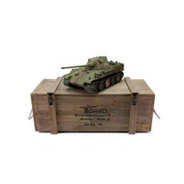 TORRO tank PRO 1/16 RC Panther F vícebarevná kamufláž - infra IR - kouř z hlavně - 4