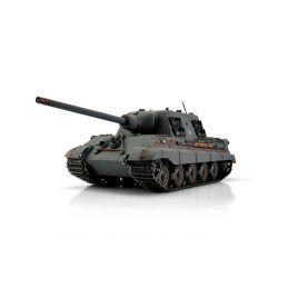 TORRO tank PRO 1/16 RC Jagdtiger šedá kamufláž - infra IR - kouř z hlavně - 1