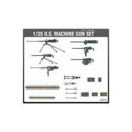 Academy US Machine Gun Set (1:35) - 1