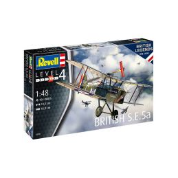 Revell British S.E. 5a (100 let RAF) (1:48) - 1