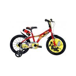 """DINO Bikes - Dětské kolo 16"""" Mickey Mouse - 1"""