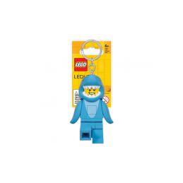 LEGO Iconic svítící klíčenka - Žralok - 1