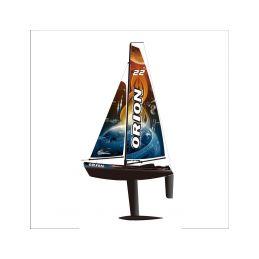 Orion plachetnice V2 2,4GHz RTR černá - 1
