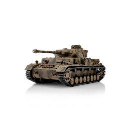 TORRO tank PRO 1/16 RC PzKpfw IV provedení G vícebarevná kamufláž - BB Airsoft - 1