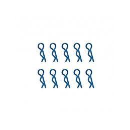 Universální sponky karoserie 1/10, modré (10 ks.) - 1